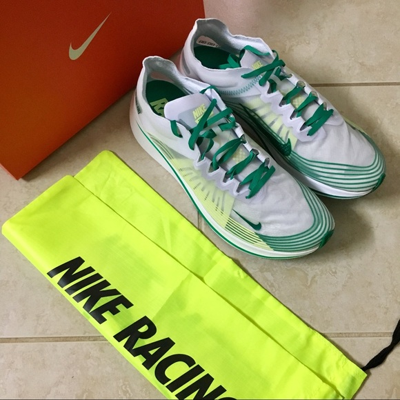 1fa76dea95a3 New Men s Nike Zoom Fly SP US 12 Green White